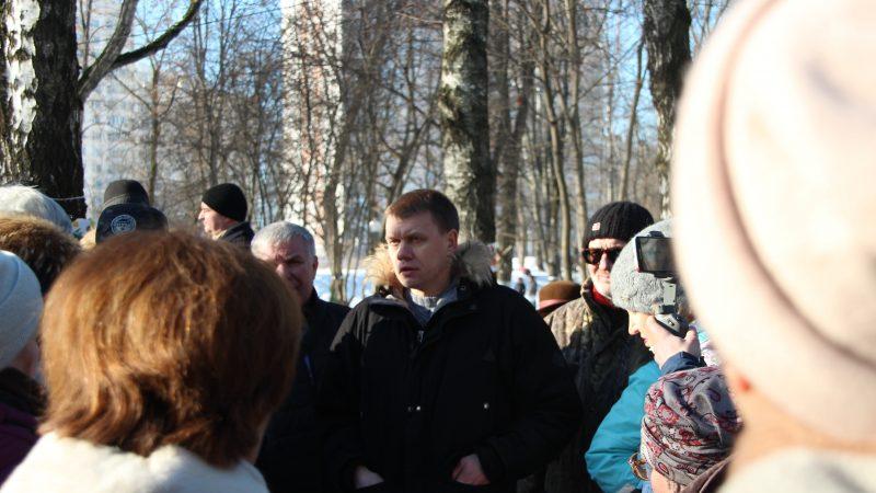 Левобережный: встреча с депутатом Мосгордумы Евгением Ступиным
