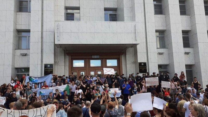Хабаровск — протесты продолжаются