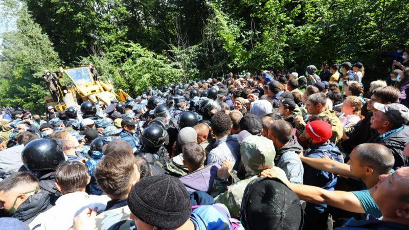Попытка очередного похищения горы в Башкирии